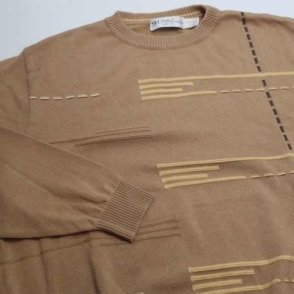 St. Croix Other - St Croix Knits Crewneck Sweater - Men's Medium